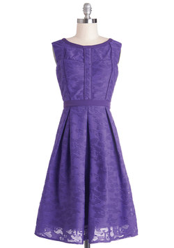Amethyst Is Us Dress