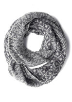 Casting Call It a Day Circle Scarf in Grey