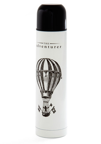 Thirst Order of Business Vacuum Bottle - Multi, Travel, Good, Novelty Print