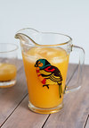 Try a Flight Pitcher - Multi, Boho, Folk Art, Better, Print with Animals, Wedding