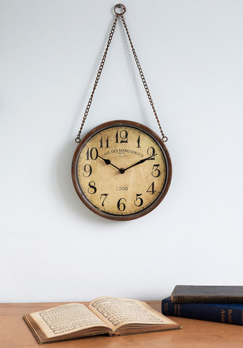Days Gone By Clock - Multi, Vintage Inspired, 20s, Steampunk, Better