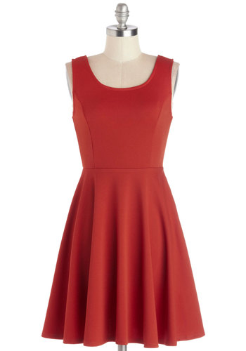 City Chanteuse Dress - Orange, Solid, Backless, Bows, Party, Tank top (2 thick straps), Better, Scoop, Knit, Short, Cutout, A-line