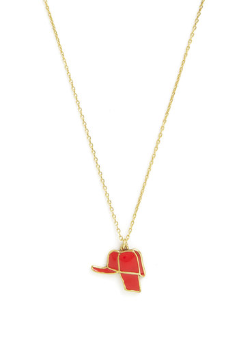 Holden's Catcher You Later Necklace by Out of Print - Red, Solid, Nifty Nerd, Gold, Better
