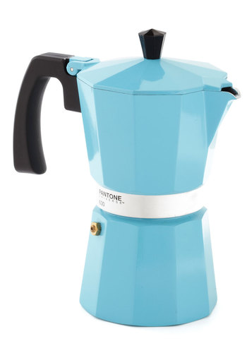 Discerning Palette Coffee Maker in Vintage Blue - 6 Cup - Blue, Minimal, Nifty Nerd, Better, Solid, 60s, Wedding