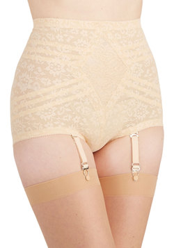 Elegant Underpinnings Contouring Undies in Peach