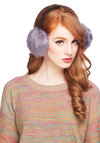 Softie at Heart Earmuffs by Kling - Purple, Black, Solid, Luxe, Winter, International Designer