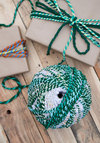 Show Them the Ropes Yarn Ball by Karma Living - Woven, Multi, Boho, Handmade & DIY, Good