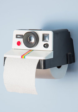 Quirky Gifts - Developing Your Decor Toilet Tissue Holder