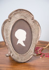 Visage of Enlightenment Frame - Bronze, French / Victorian, Good, Wedding