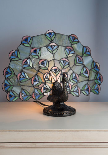 Brilliant Display Lamp - Multi, Dorm Decor, Best, Animal Print, Vintage Inspired