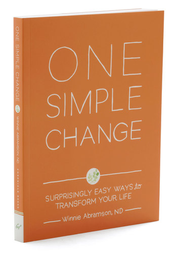 One Simple Change by Chronicle Books - Good, Orange