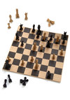 Chess Your Luck Chess Set by Chronicle Books - Multi, Nifty Nerd, Good