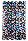 Blink of an Eyeball Shower Curtain - Black, Red, Blue, White, Quirky, Woven, Good, Novelty Print