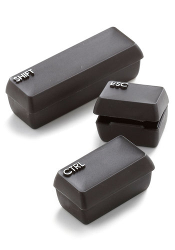 Long and Shortcut of It Pill Box Set - Black, Nifty Nerd, Good, Under $20