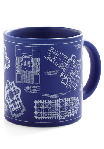 If You Brew It Mug - Blue, Nifty Nerd, Good, Novelty Print, Top Rated