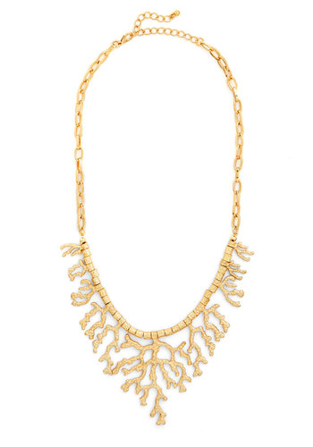Hidden Laguna Necklace - Solid, Nautical, Social Placements, Gold, Top Rated