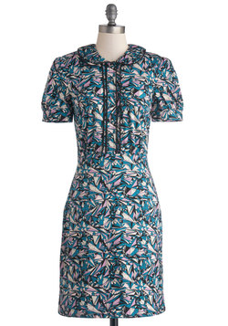 Geometric Graphic Designer Dress