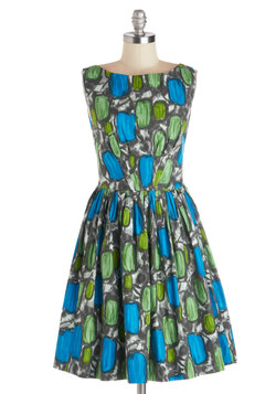 Daytrip Darling Dress in Abstract