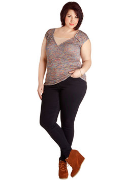 Manic Fun-day Jeans in Midnight - Plus Size