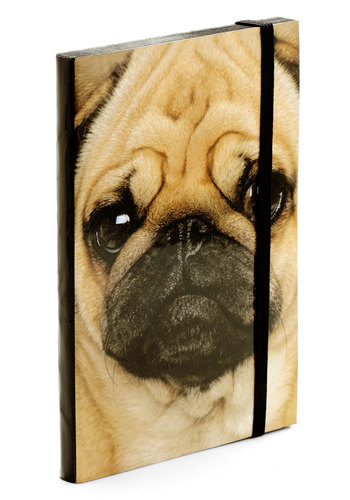 Puppy Dog Eyes Notebook