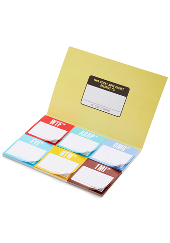 TGI-Fun Notepad Set - Multi, Quirky, Good, Under $20