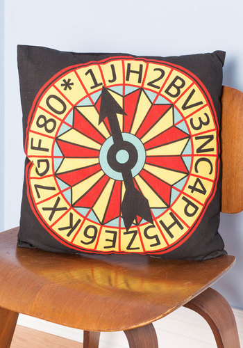 We Have a Spinner Pillow - Woven, Multi, Dorm Decor, Better, Novelty Print