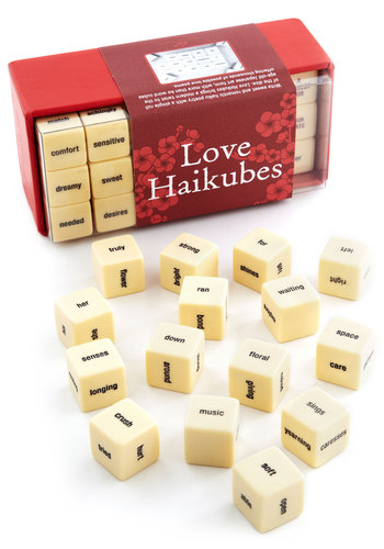 Love Haikubes Game by Chronicle Books - Valentine's, Good, Nifty Nerd