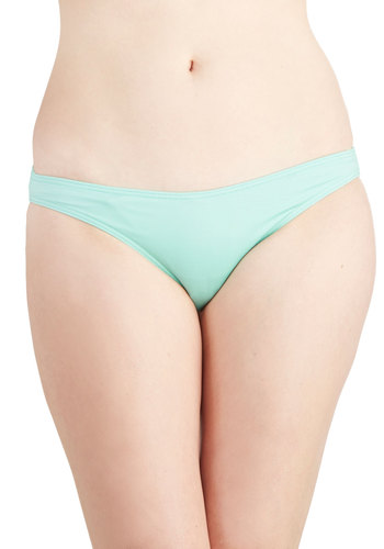 Tidal Pool Swimsuit Bottom - Knit, Mint, Solid, Beach/Resort, Exclusives, Pastel, Summer