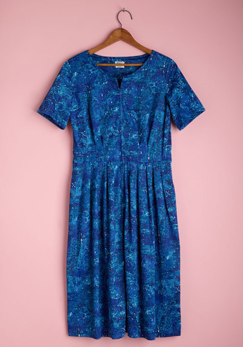 Vintage Pacific Palette Dress