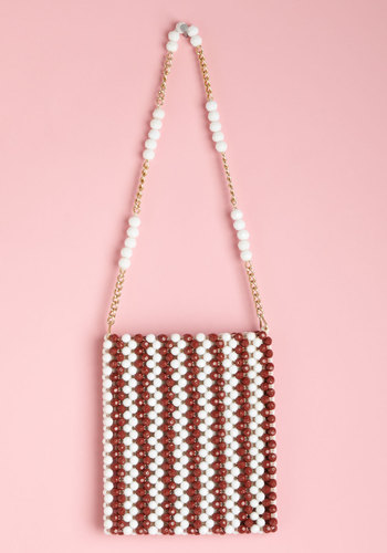 Vintage Brilliant Bead Curator Bag