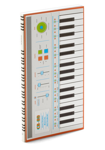 Keyboard to Success Music Notebook by Chronicle Books - Music, Good, Multi, Novelty Print, Festival