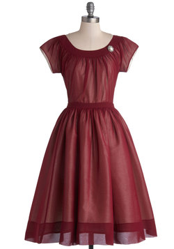 Old-Fashioned Fanfare Dress