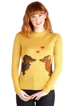 Wiener Takes It All Sweater