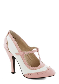 Speakeasy Does It Heel in Blush