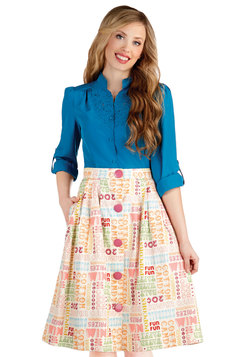 Fun and Games Skirt