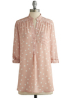 Hosting for the Weekend Tunic in Blush