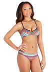 Cove Sunset Swimsuit Top - Knit, Multi, Print, Cutout, Beach/Resort, Summer