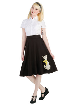 Chic Companion Skirt in Chat