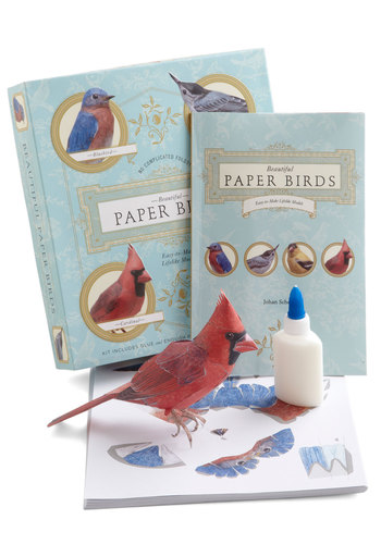 Beautiful Paper Birds - Multi, Handmade & DIY, Good, Critters, Under $20, Bird, Woodland Creature