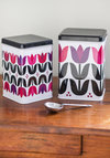 Totally Tulip Container Set - Multi, Mod, Mid-Century, Good, Floral