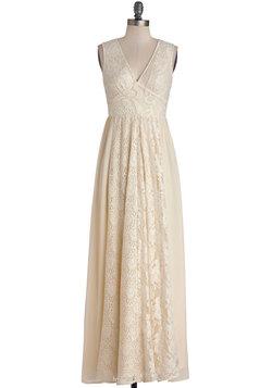 Crème de la Bohème Dress