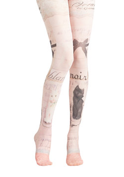 Opposites Cat-tract Tights