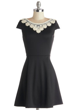 Akin to Audrey Dress in Black