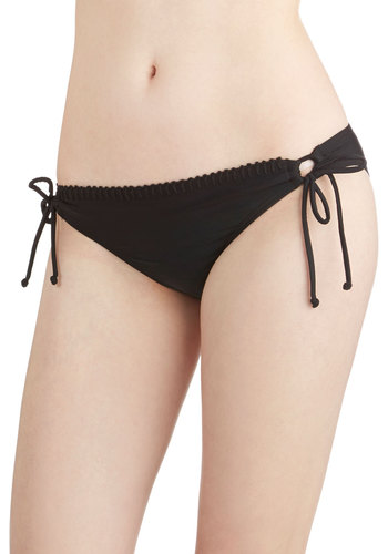 Smart Thinking Swimsuit Bottom - Knit, Black, Solid, Beach/Resort, Summer, Minimal