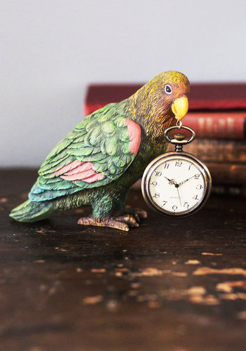 Beak the Clock - Multi, Safari, Quirky, Better, Critters, Guys, Bird, Woodland Creature