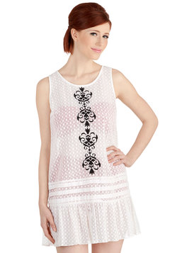 That's for Shore Cover-Up Dress in White