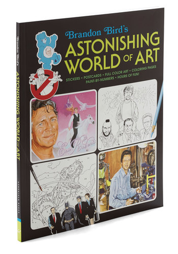 Brandon Bird's Astonishing World of Art by Chronicle Books - Quirky, Good, Bird, Woodland Creature
