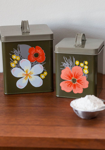 Age of Primrose Container Set - Multi, Floral, Vintage Inspired, Hostess