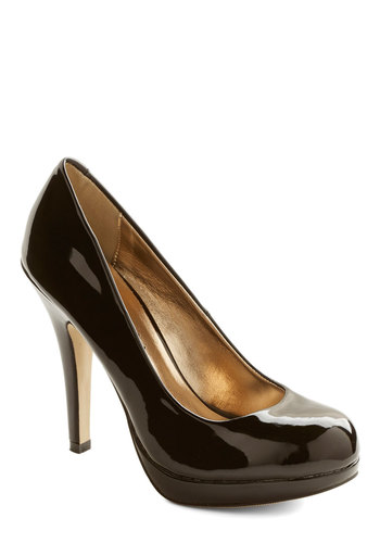 Trend 'Til the End Heel - High, Solid, Prom, Party, Cocktail, Girls Night Out, Better, Platform, Minimal, Black