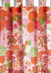 Groovy Marathon Curtain by Karma Living - Cotton, Woven, Multi, Floral, Boho, 70s, Better, Summer